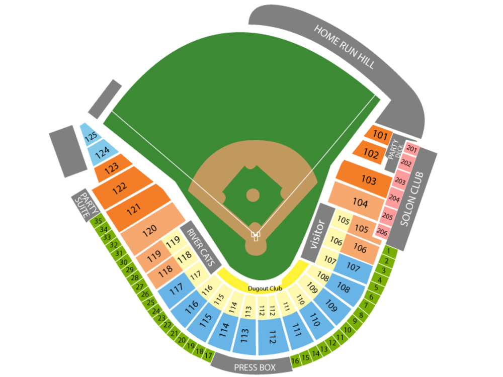 El paso chihuahuas at sacramento river cats tickets also raley field west rh teamonetickets