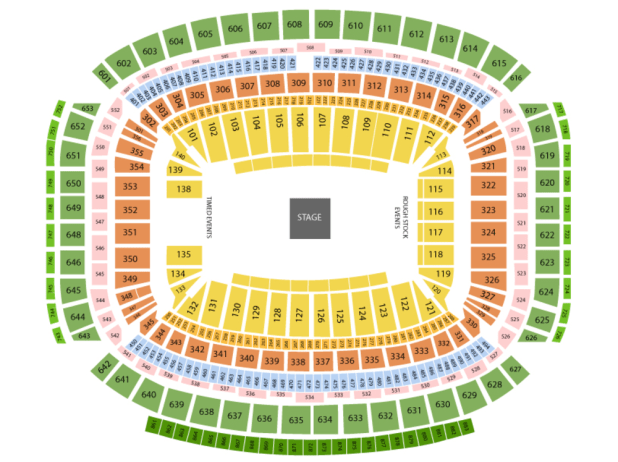 Rodeo Houston Seating Chart 2018 Brokeasshome Com