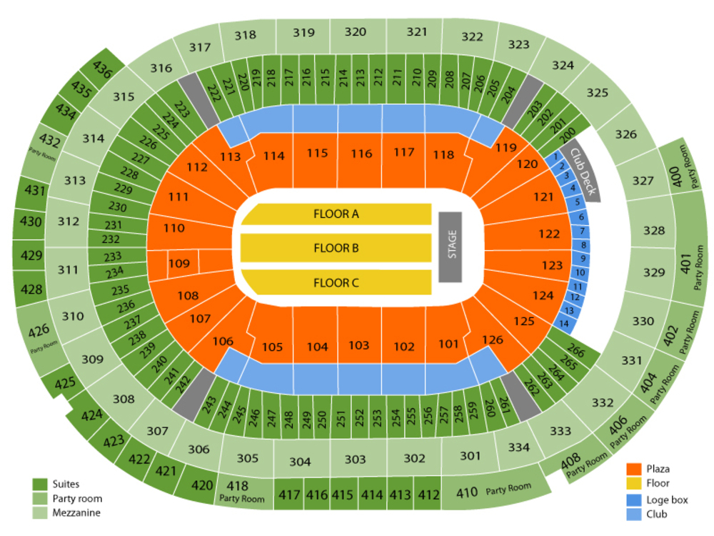 Elton john venue map also live at enterprise center on tue oct pm rh ticketstogo