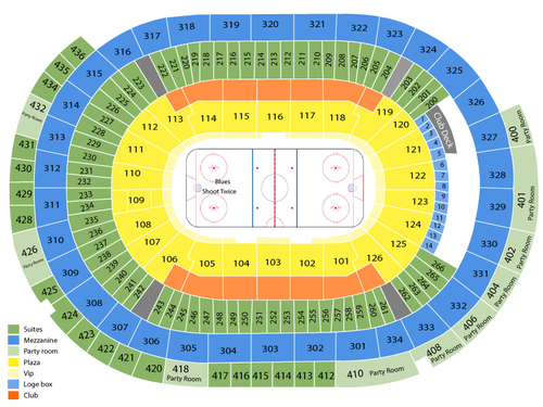 Guns   hoses boxing challenge also enterprise center formerly scottrade seating chart events rh goldcoasttickets