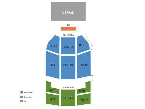 Al pacino also fillmore miami beach at jackie gleason theater seating chart rh goldcoasttickets