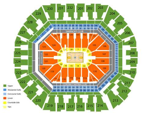 Golden state warriors also oracle arena seating chart  events in oakland ca rh goldcoasttickets