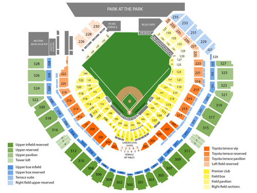 Petco park seating chart also the eagles with zac brown band and doobie brothers at rh teamonetickets