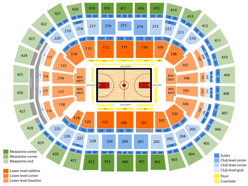Georgetown hoyas basketball also capital one arena seating chart  events in washington dc rh goldcoasttickets