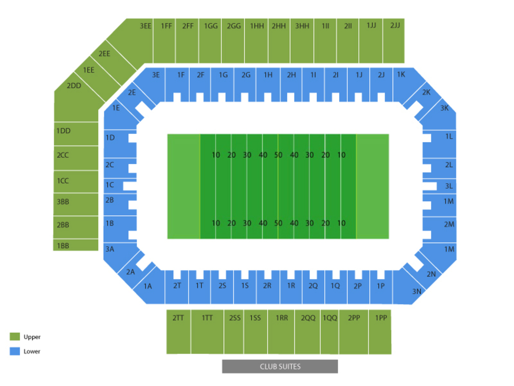 Floyd stadium seating chart also western kentucky hilltoppers at middle tennessee state blue raiders rh teamonetickets