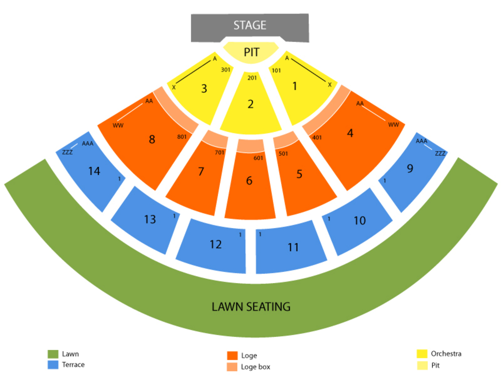 Irvine meadows amphitheater seating chart also and tickets formerly rh teamonetickets