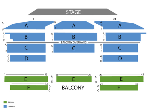 Royal oak music theatre seating chart also  events in mi rh goldcoasttickets