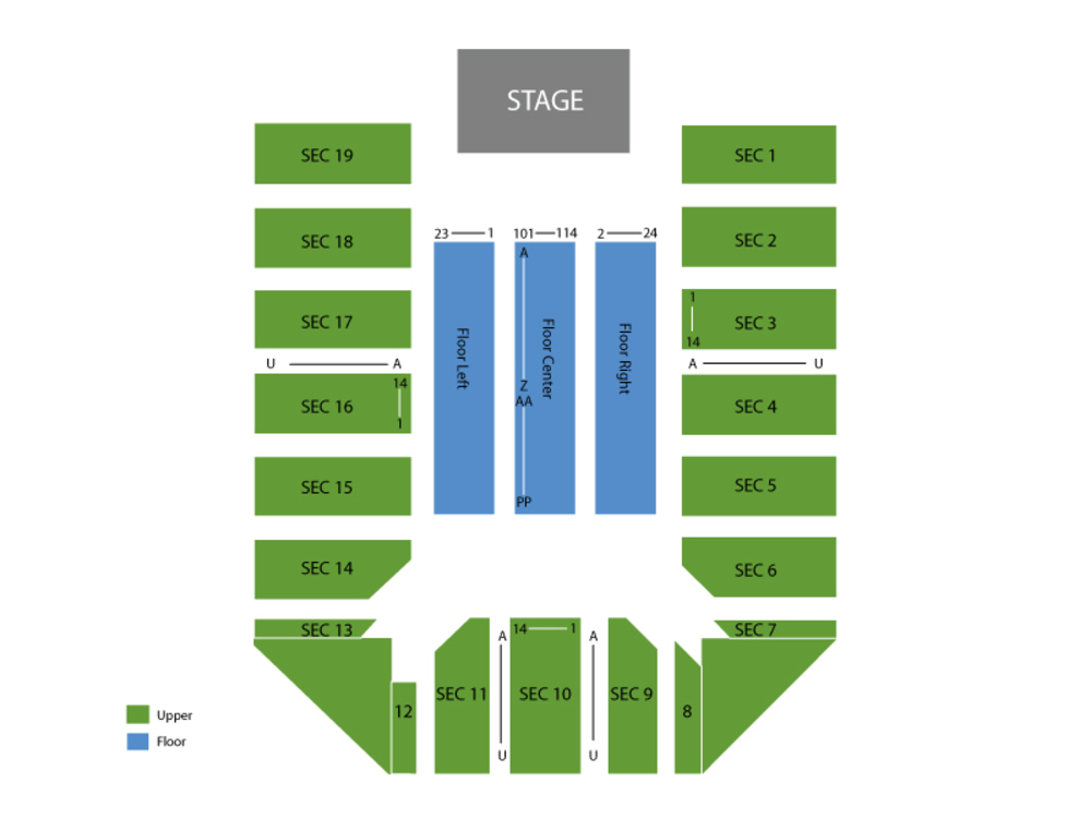 Event center at san jose state university seating chart also seconds of summer rh teamonetickets
