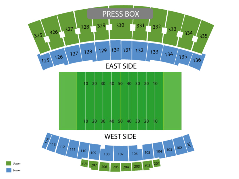 Houchens industries lt smith stadium seating chart also utep miners at western kentucky hilltoppers football rh teamonetickets