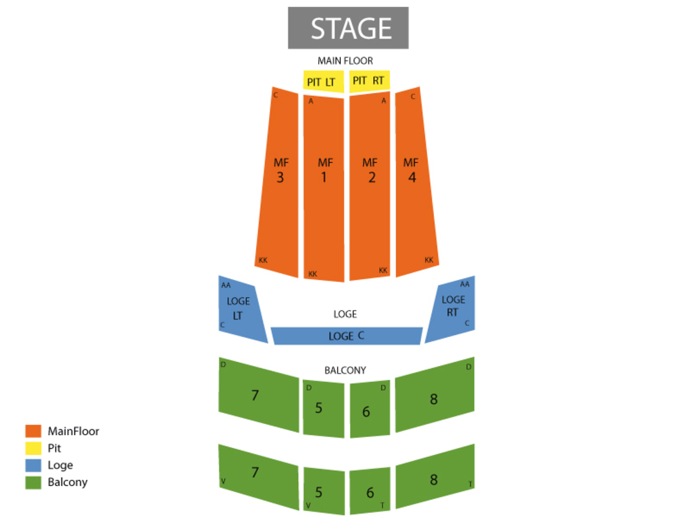 State theatre minneapolis seating chart also ina garten at mn rh teamonetickets