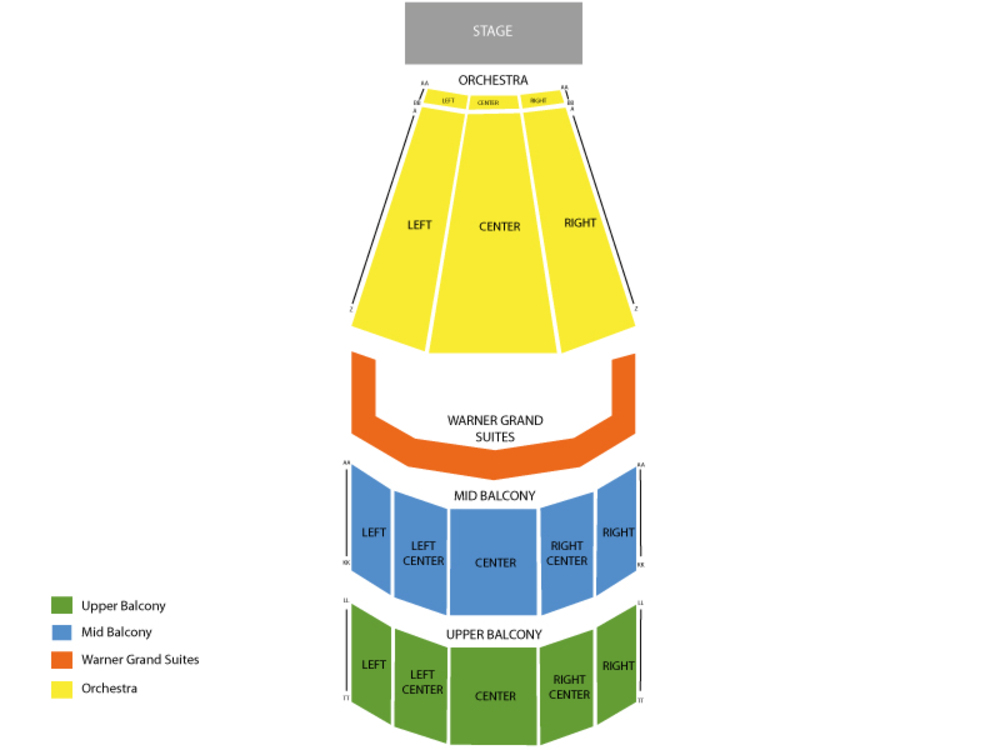Warner theatre dc seating chart also washington ballet the nutcracker at rh teamonetickets