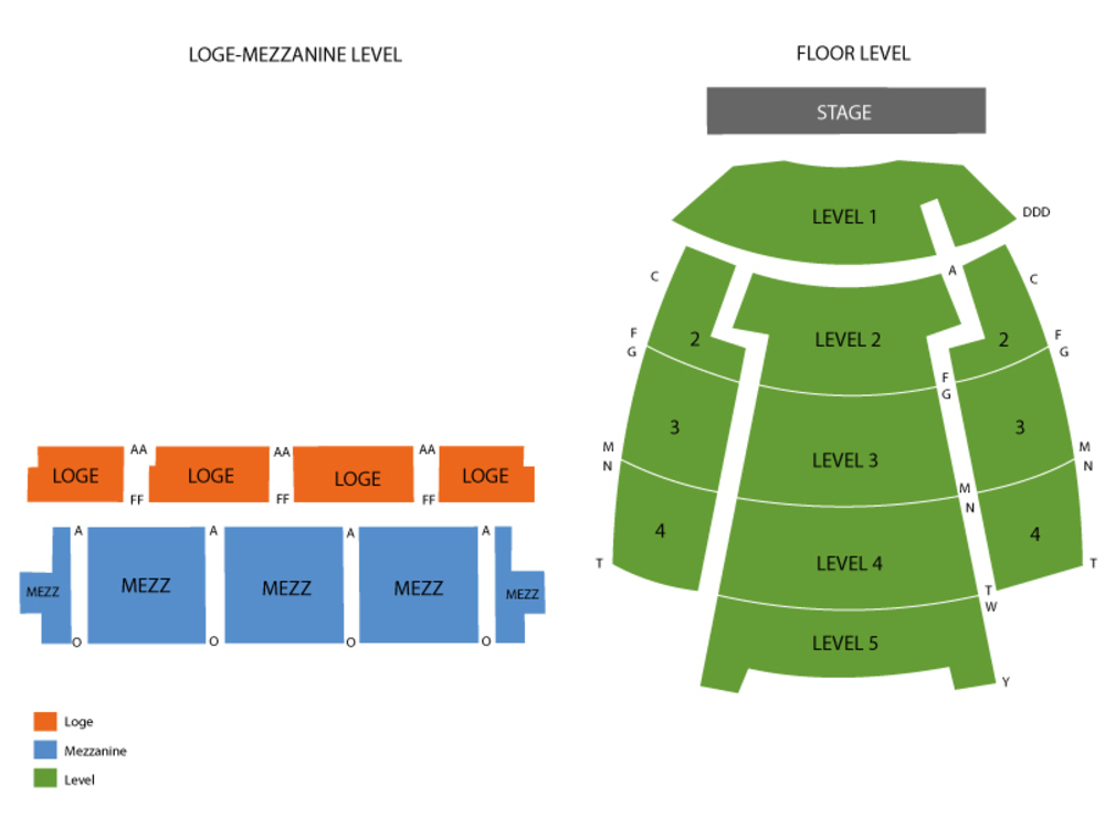 Wiltern theatre seating chart also and tickets formerly the rh teamonetickets