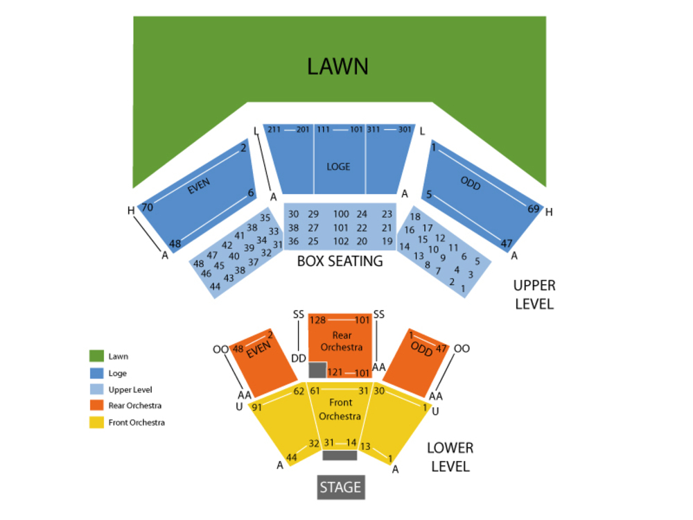 Wolf trap seating chart also and tickets formerly wolftrap farm rh teamonetickets