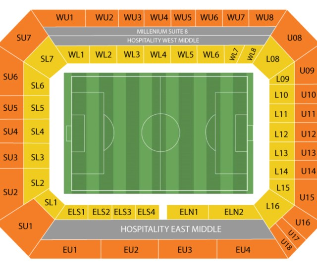 Stamford Bridge Stadium Seating Chart