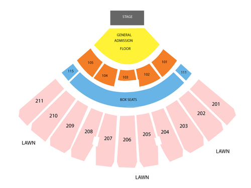 White river amphitheatre seating chart also  events in auburn wa rh goldcoasttickets