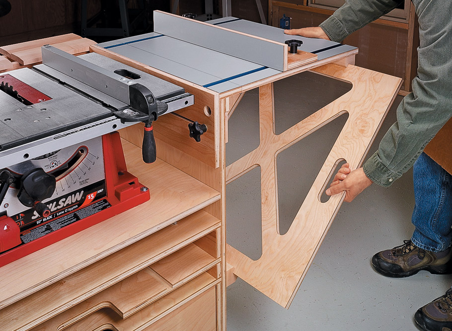 Table Saw Work Station