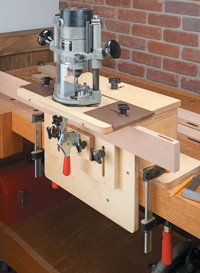 How To Make A Mortise Jig For Router
