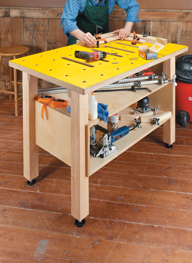 Woodworking Assembly Table