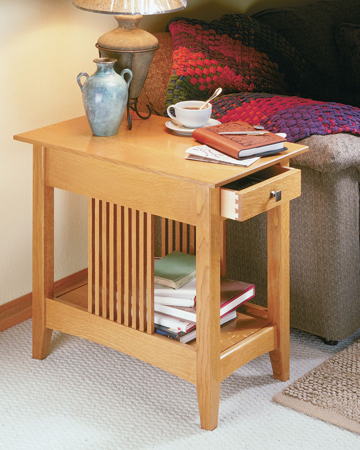 craftsman end table woodworking