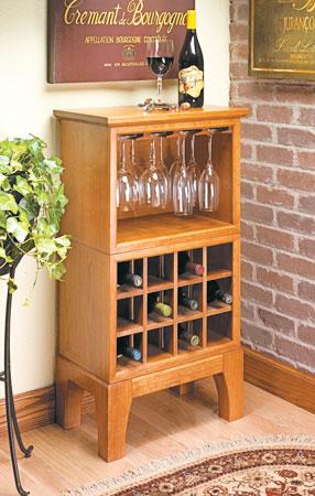 wine rack plans woodsmith plans