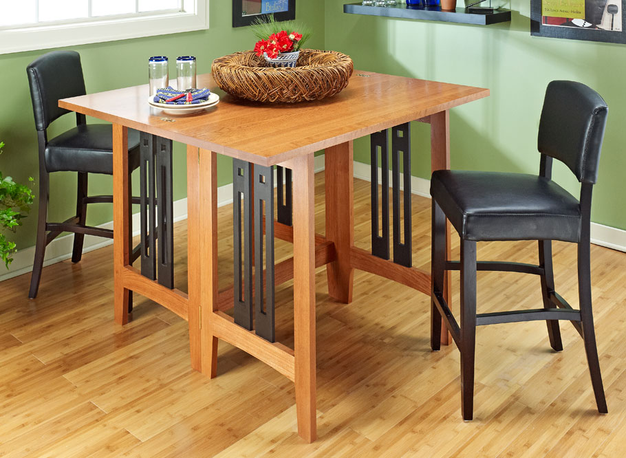 folding table woodworking project