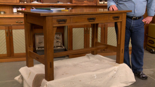 solid wood kitchen table cabinet designer craftsman library