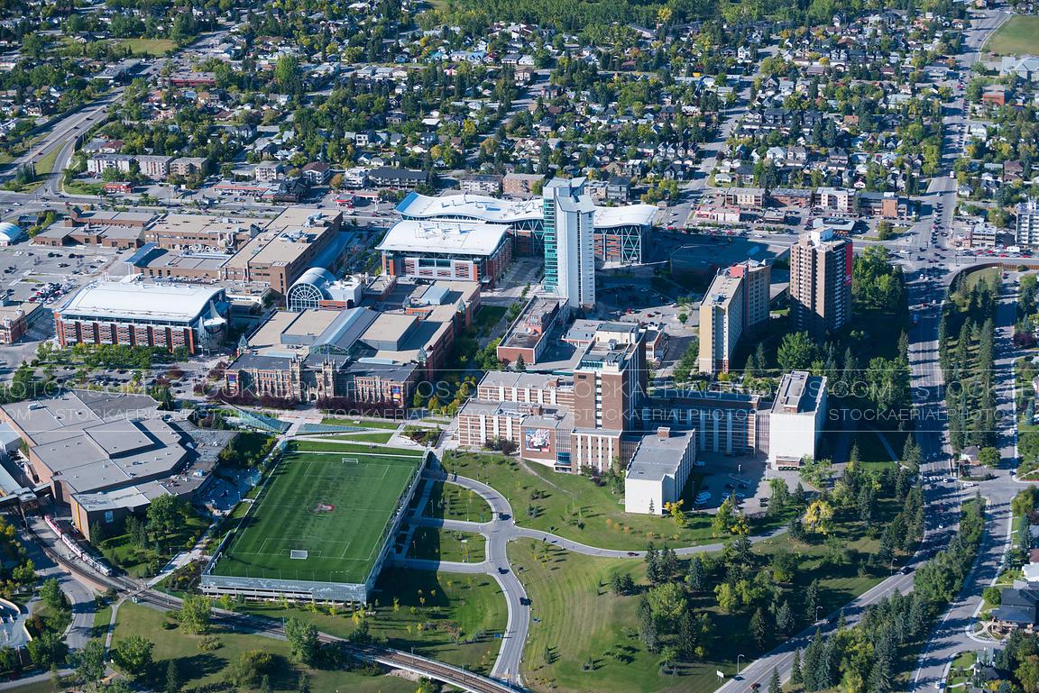 Aerial Photo SAIT Polytechnic Southern Alberta