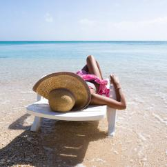 Lay Down Beach Chairs Leggett And Platt Chair Parts Matteo Colombo Travel Photography Woman Laying On