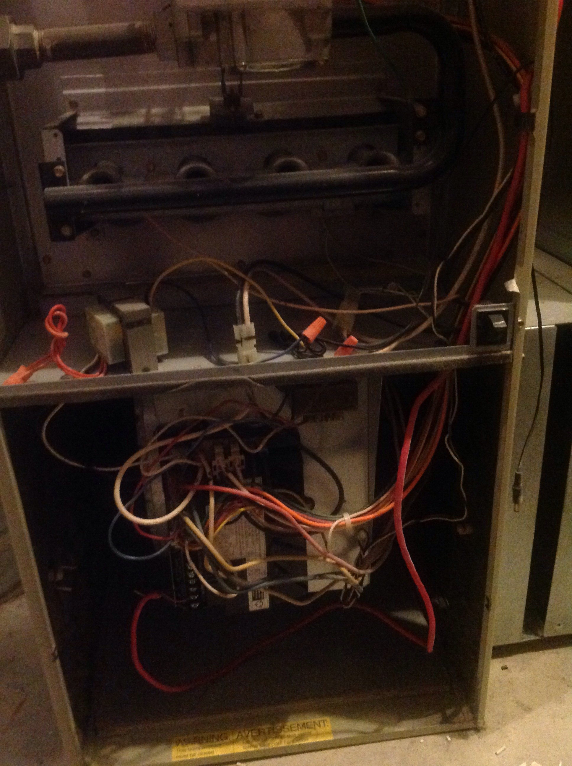 furnace blower humming when off garage heater wiring diagram how to inspect hvac systems course page 562 internachi
