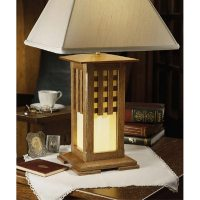 Arts and Crafts Lamp Woodworking Plan from WOOD Magazine