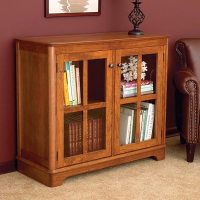 Glass-Door Bookcase Woodworking Plan from WOOD Magazine