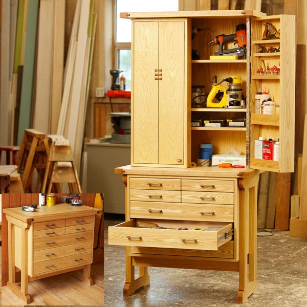 Heirloom Tool Chest Woodworking Plan from WOOD Magazine
