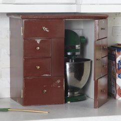 Kitchen Appliance Garage Kits Reupholster Chair Woodworking Plan From Wood Magazine