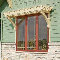 Window or Door Arbor Woodworking Plan from WOOD Magazine