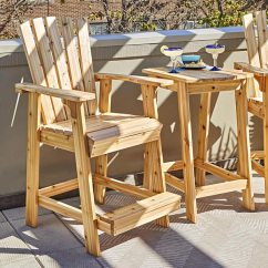 Outdoor Table And Chairs Wood Wooden Rocking Nursery Furniture Woodworking Plans High Style Adirondack Pair