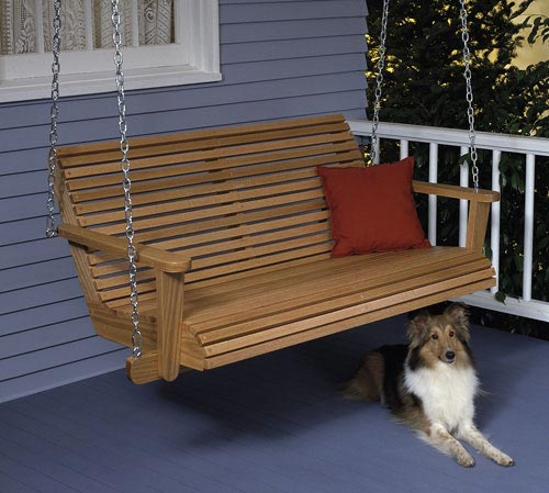 folding chair picnic table and chairs toddler porch swing : large-format paper woodworking plan from wood magazine