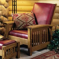 Arts and Crafts Morris Chair Woodworking Plan from WOOD ...