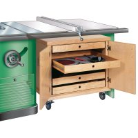 Tablesaw Accessories Cabinet Woodworking Plan from WOOD ...