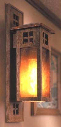 Arts and Crafts Wall Sconce Woodworking Plan from WOOD ...
