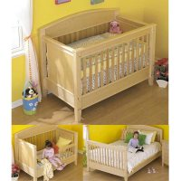 3-in-1 Bed for All Ages Woodworking Plan from WOOD Magazine