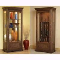Convertible Display and Gun Cabinet Woodworking Plan from ...