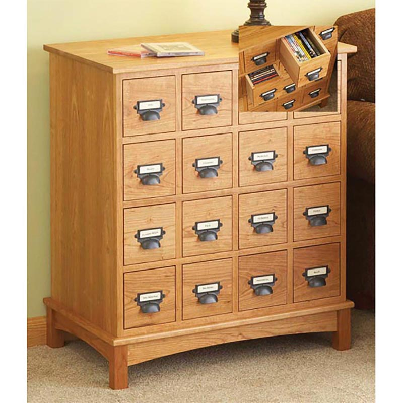 Media Cabinet Woodworking Plan From WOOD Magazine