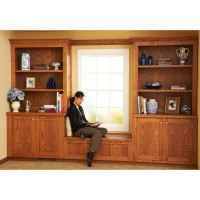 Design and Install Built-In Bookcases Woodworking Plan ...