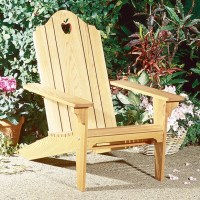 Folding Adirondack Chair : Large-format Paper Woodworking ...