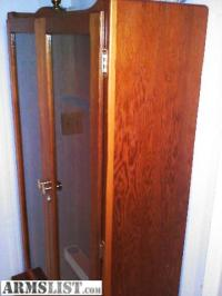 ARMSLIST - For Sale: Early 1960's Handmade Gun Cabinet