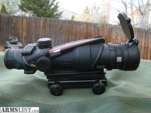 ARMSLIST - For Sale/Trade: Trijicon ACOG TA31RCO M150 Sight/Scope 4x32 Never Mounted