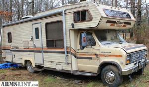 ARMSLIST  For SaleTrade: 1987 Ford Motorhome
