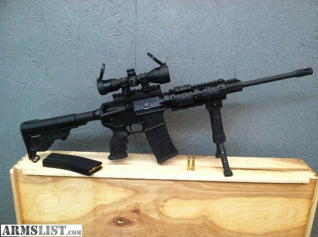ARMSLIST  For Sale DPMS Oracle 223556 AR rifle with