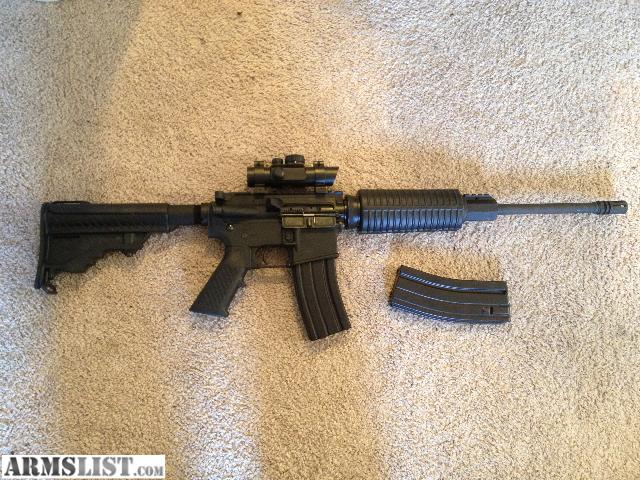 ARMSLIST  For Sale AR15 DPMS Oracle 223 Slightly Used