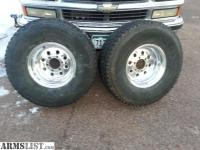 ARMSLIST - For Sale/Trade: 33x12.5x15 A/T Tires and wheels ...